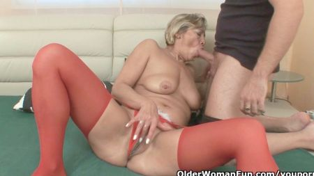Hot Step Mom Force Her Son