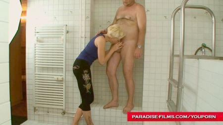 Punching Her Big Bobs