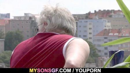 Lovely Old Women Fuck Boy