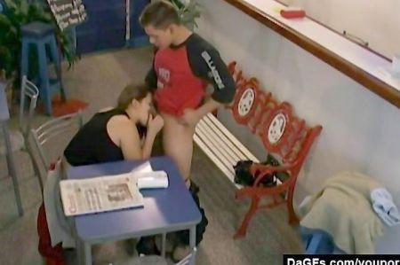 The Teacher Fucks Schoolgirl In Dress