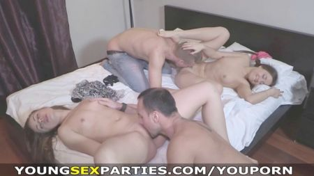 Mom Shows Step Sons How To Fuck