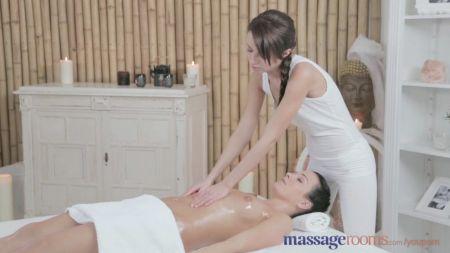 Mom And Son Step Sleeping Massaging