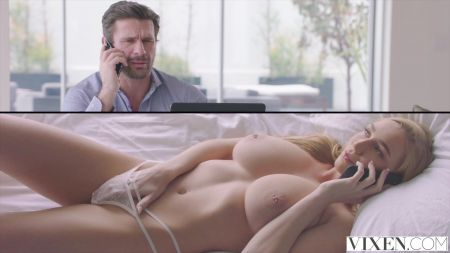 Girl Is Doing Work And A Boy Herusting For Fucked