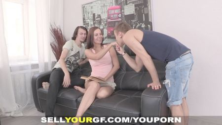 Romantic Couple Sex In The Bed