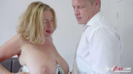 Blond White Girl Is Bukkaked