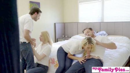 Horny Mom Helps Her Son