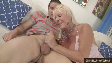 Mom N Son Sharing Shower