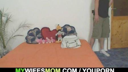 Sleeping Mom Son Forced Fak