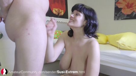 Girl Teacher And Student Boy In Classroom