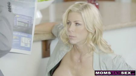Old Mom Fucked By