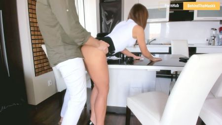 Horny Lady Sucks Cock Before Sitting On It For Sex