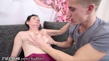 Eva Notty With Son
